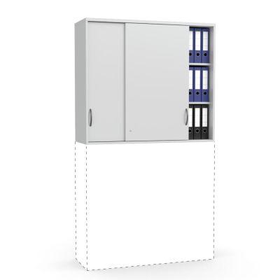 Schiebetüren-Aufsatzschrank Creaform M, (1055 mm Höhe)