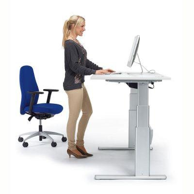 Sitz-/Stehtisch creaform Basic elektrisch höhenverstellbar