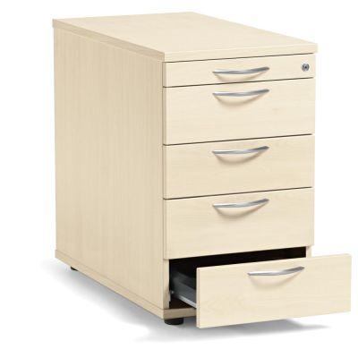 Standcontainer Creaform M, vier Schubladen und Utensilienfach