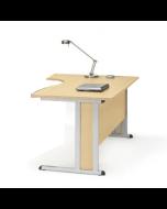 Schreibtisch Creaform M, Freiform