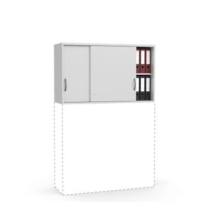 Schiebetüren-Aufsatzschrank Creaform M, (710 mm Höhe)