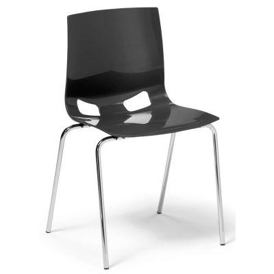 Stapel-Schalenstuhl creaform Glossy
