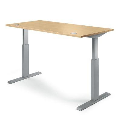 Steh-Sitztisch Creaform M Basic, rechteckig