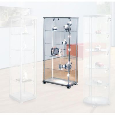 Glasvitrine Silverline XL