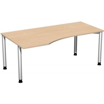 Schreibtisch 4 Fuß Flex, PC-Form