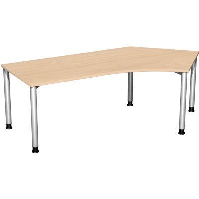 Schreibtisch 4 Fuß Flex, 135° abgewinkelt