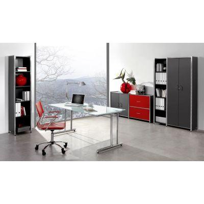 Glas-Schreibtisch Air