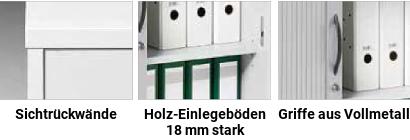 creaform M Rolladenschränke Details